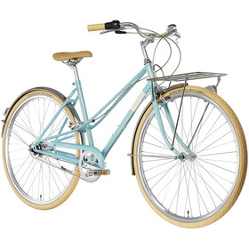 Creme Caferacer Solo Dames, turquoise